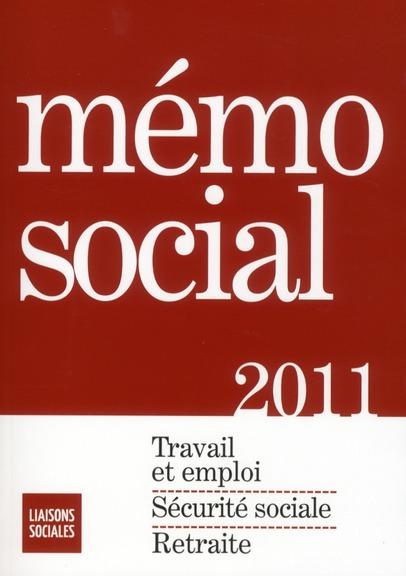 Mémo social 2011