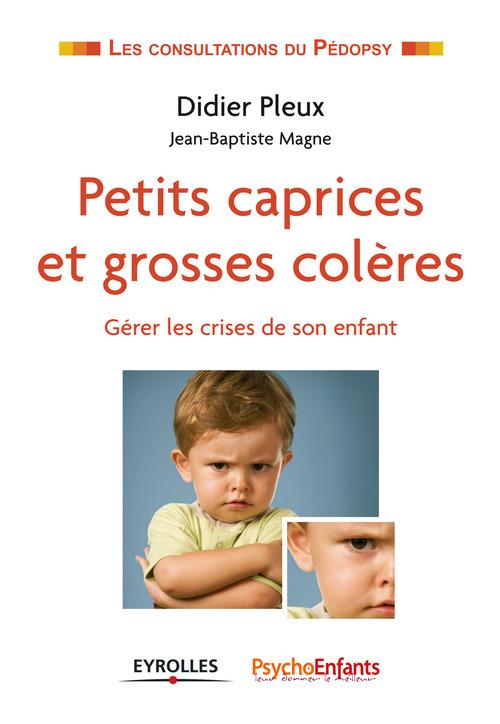 Petits caprices et grosses colères ; gérer les crises de son enfant