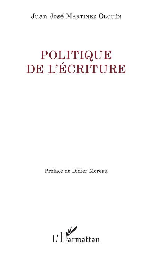 Politique de l'écriture