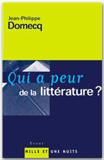 Qui a peur de la littérature ?