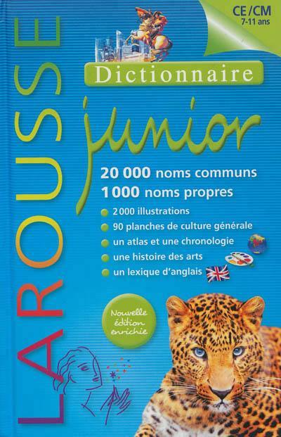 Dictionnaire Larousse junior ; 7/11 ans