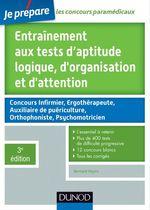 Vente EBooks : Entraînement aux tests d'aptitude logique, d'organisation et d'attention - 3e édition  - Bernard Myers