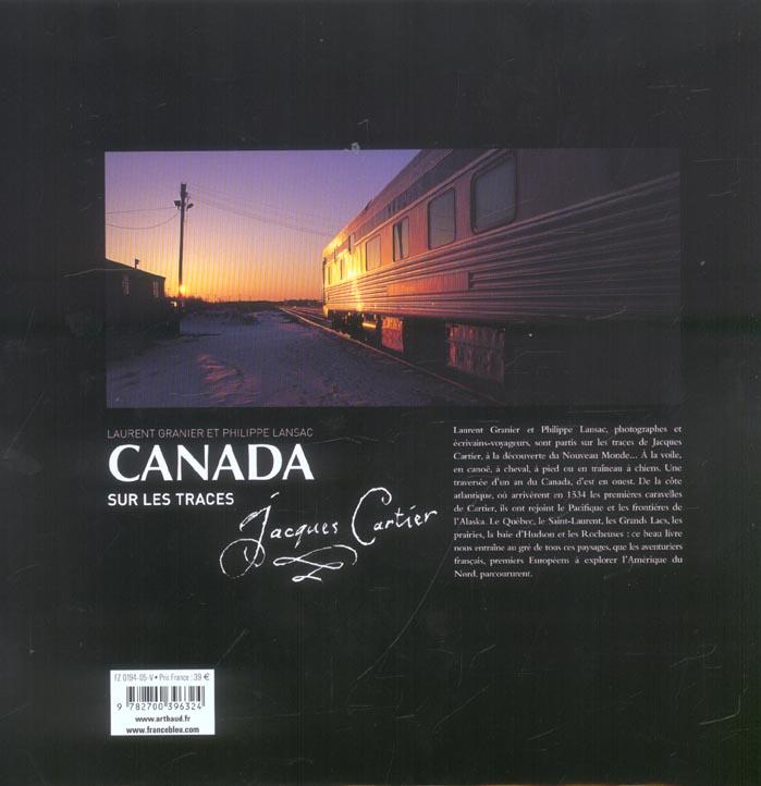 Canada ; sur les traces de Jacques Cartier