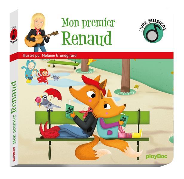 Livre musical ; mon premier Renaud