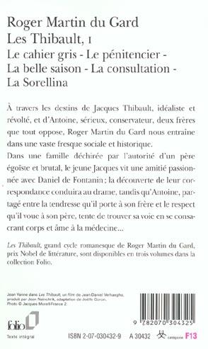 les Thibault t.1