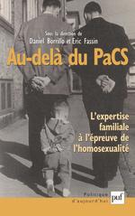 Vente Livre Numérique : Au-delà du PaCS  - Éric FASSIN - Daniel BORRILLO