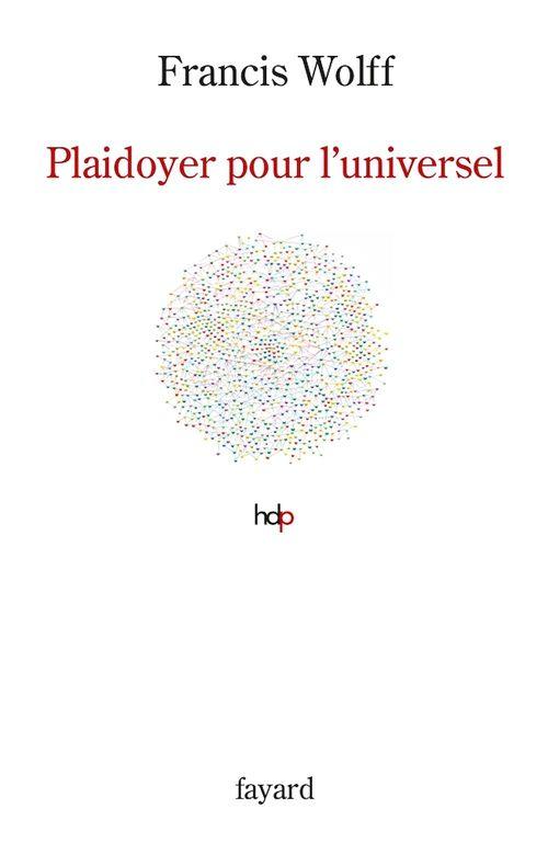 Plaidoyer pour l'universel