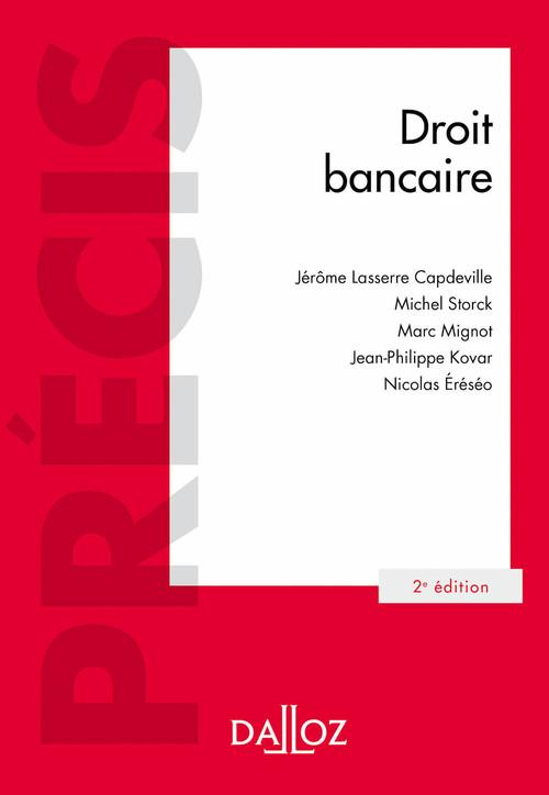 Droit bancaire (2e édition)