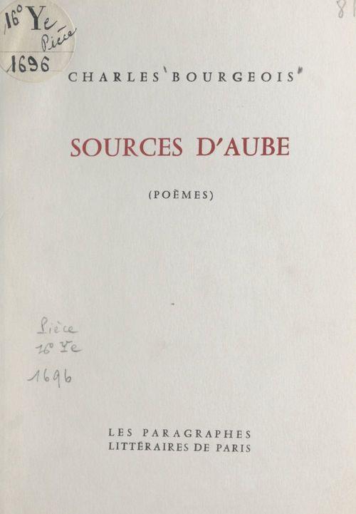 Sources d'aube