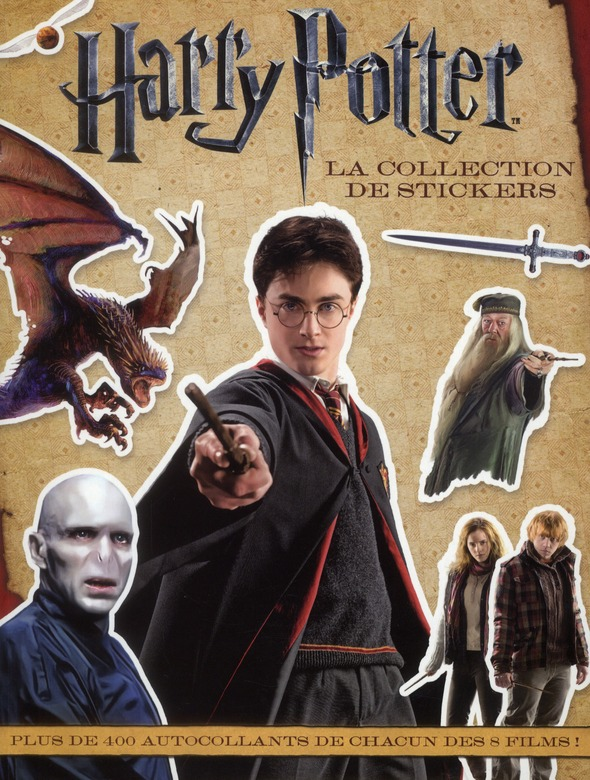 Harry Potter ; la collection des stickers