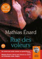 Vente AudioBook : Rue des voleurs  - Mathias Enard