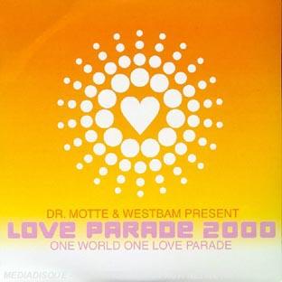 Love Parade 2000;one World One Love Parade