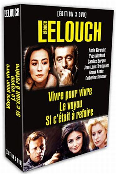 Claude Lelouch - Coffret - Vivre sa vie + Le voyou + Si c'était à refaire