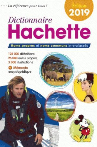 Dictionnaire Hachette (édition 2019)