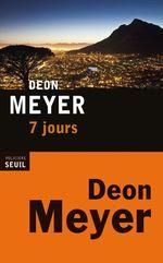 Vente Livre Numérique : 7 jours  - Deon Meyer