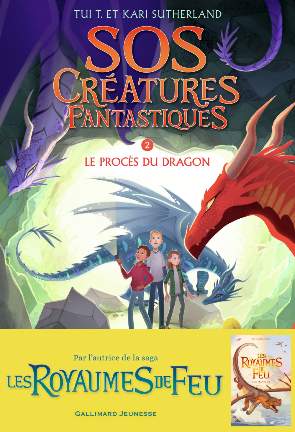 sos creatures fantastiques 2 - le proces du dragon