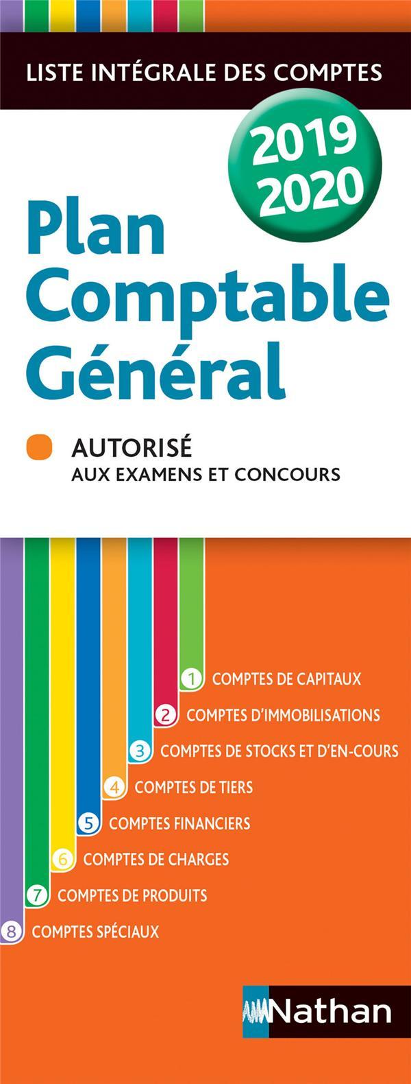 Plan comptable général (édition 2019/2020)