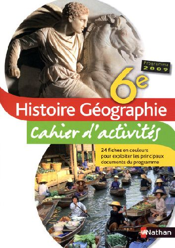 Histoire-Geographie 6e Td 2009