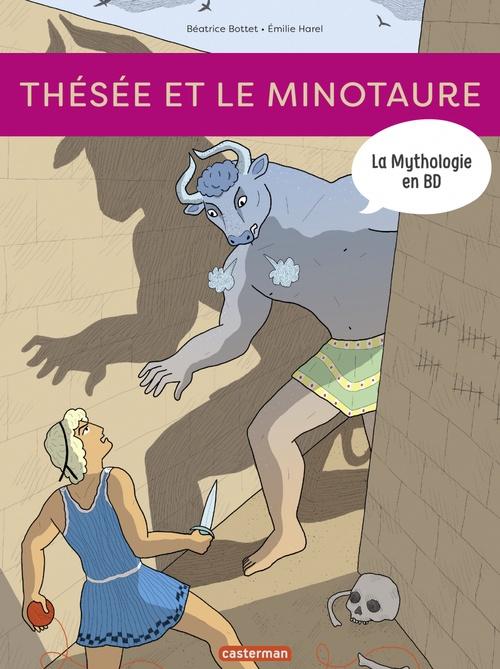 La Mythologie en BD - Thésée et le Minotaure