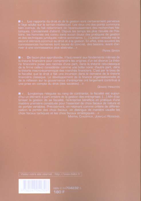 Gestion et droit ; institut d'administration des entreprises, XVe journées nationales Bayonne-Biarritz 2000