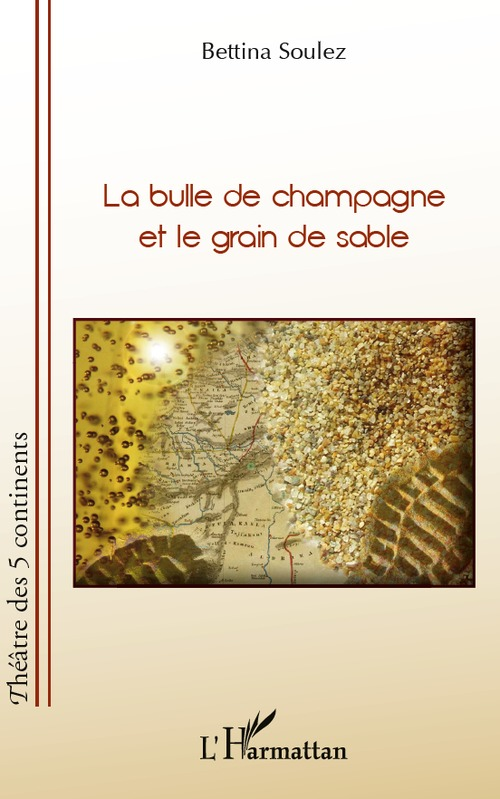 Bulle de champagne et le grain de sable