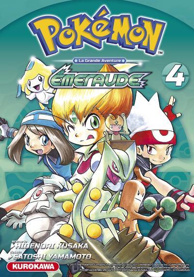 Pokémon ; la grande aventure - Rouge Feu et Vert Feuille / Emeraude t.4