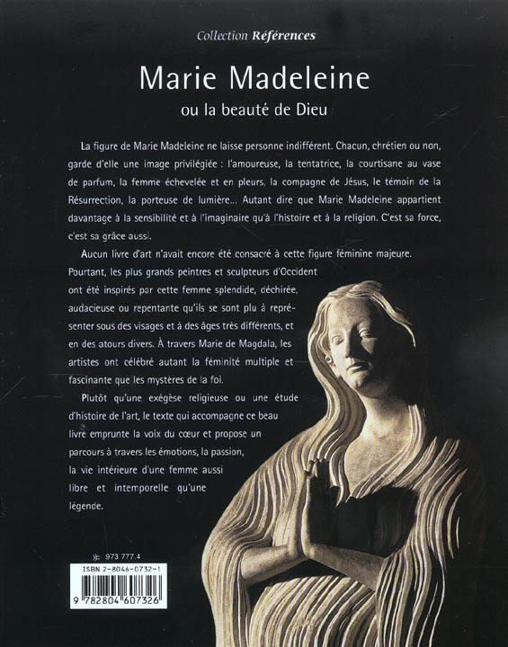 Marie-madeleine ou la beaute de dieu