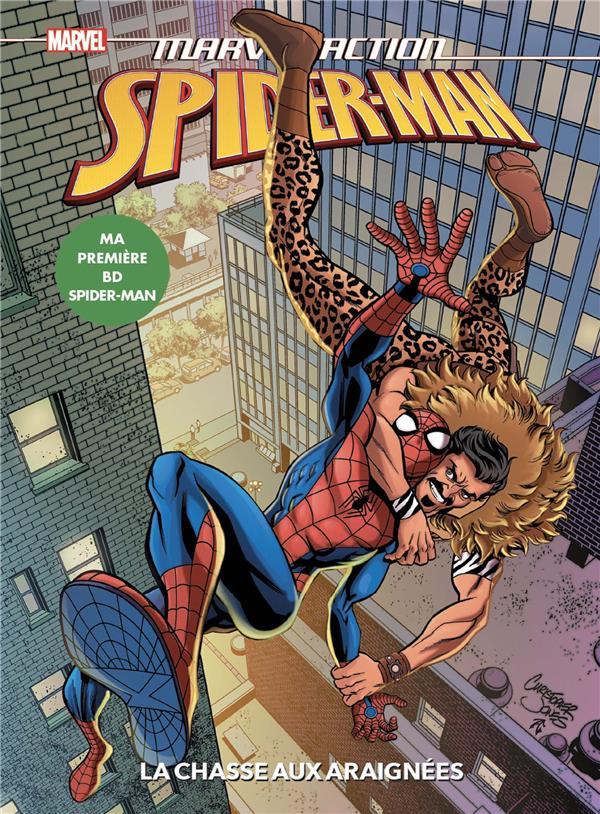 SPIDER-MAN  -  LA CHASSE AUX ARAIGNEES BURNHAM/JONES