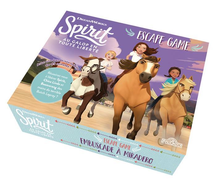 Spirit ; au galop en toute liberté ; escape box