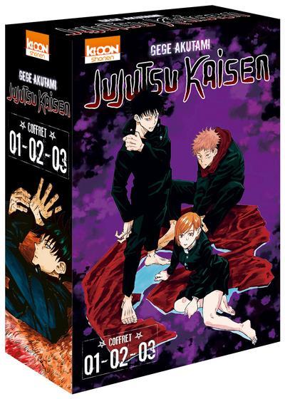 Jujutsu Kaisen ; coffret t.1 à t.3