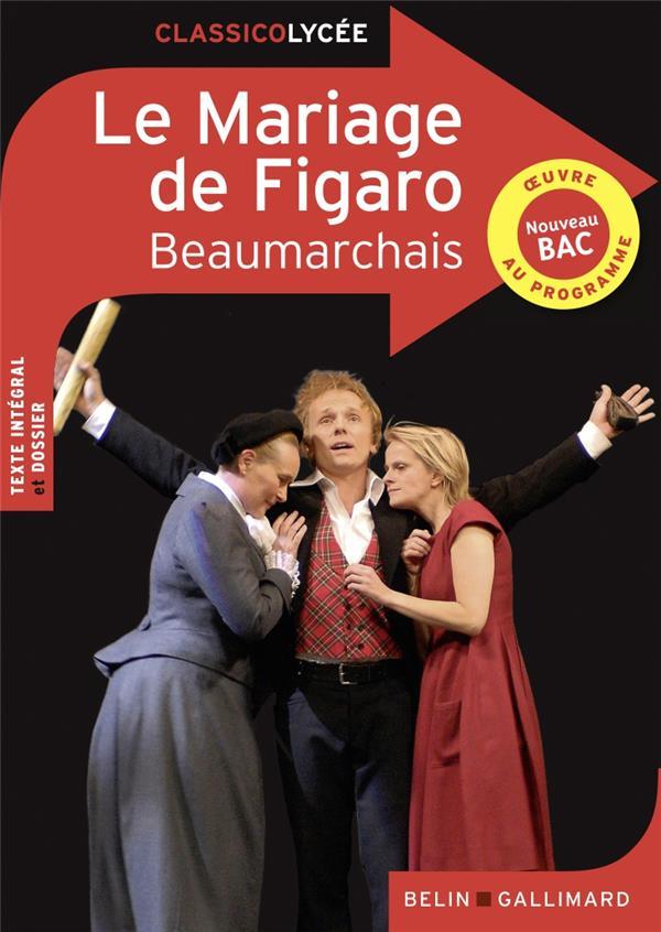 Le mariage de Figaro, de Beaumarchais