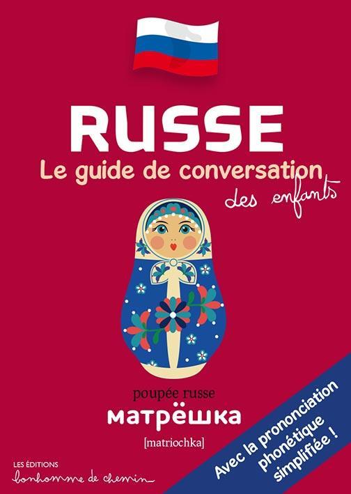 Russe, le guide de conversation des enfants