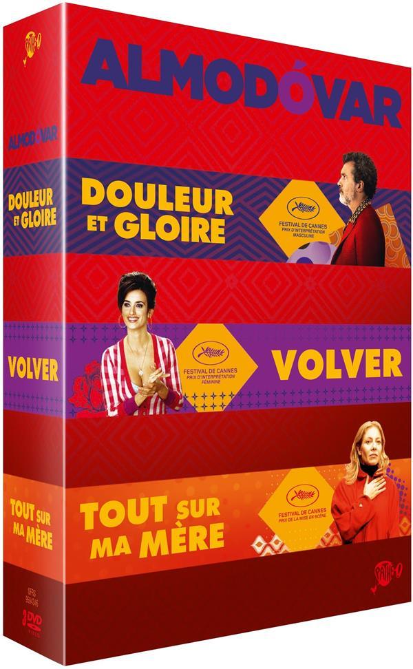 3 films de Pedro Almodóvar : Douleur et gloire + Tout sur ma mère + Volver
