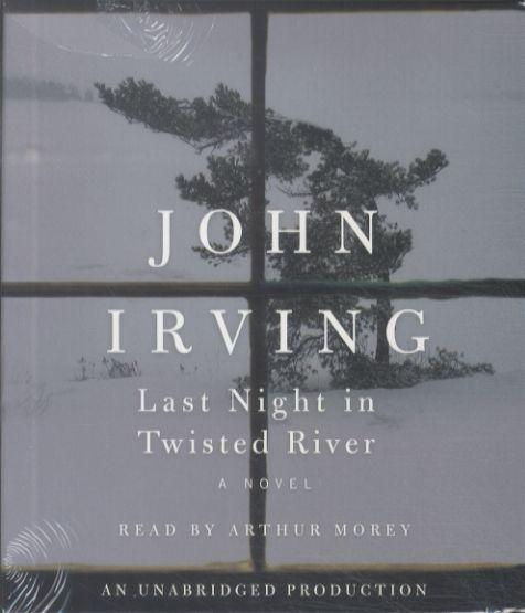 Last night in twisted river - 20 cd: read by arthur morley