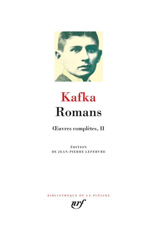 Oeuvres complètes t.2 ; romans