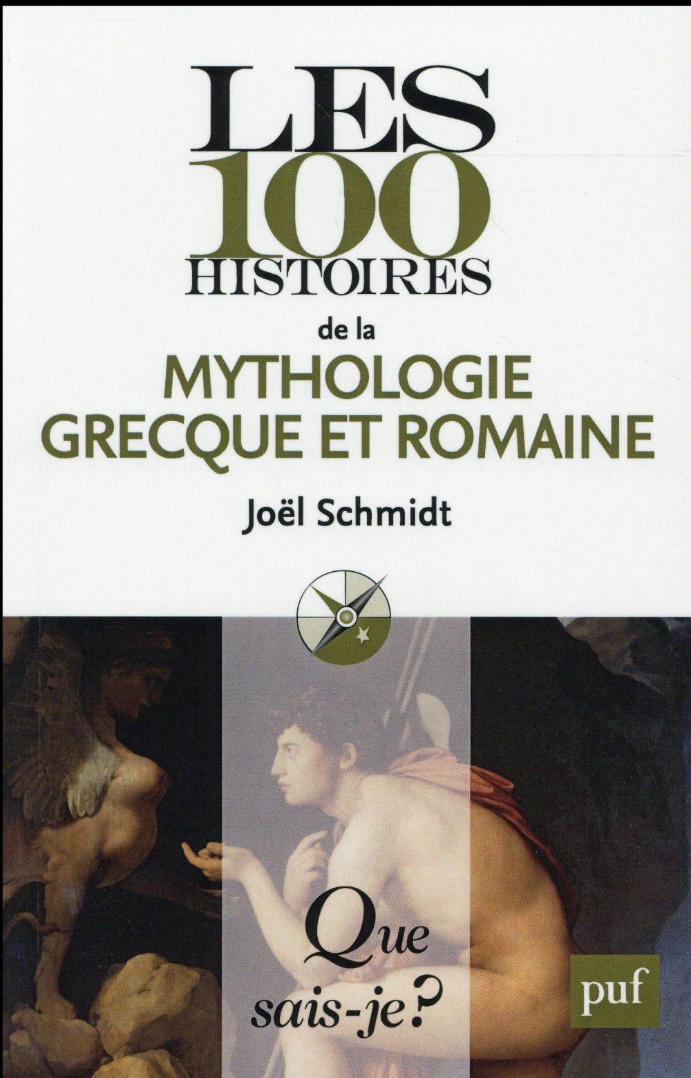 Les 100 histoires de la mythologie grecque et romaine
