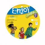 ENJOY ENGLISH IN ; 5ème ; cd élève de remplacement (édition 2007)
