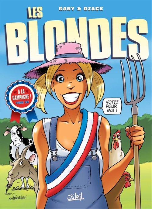 Les blondes T.26 ; à la campagne !