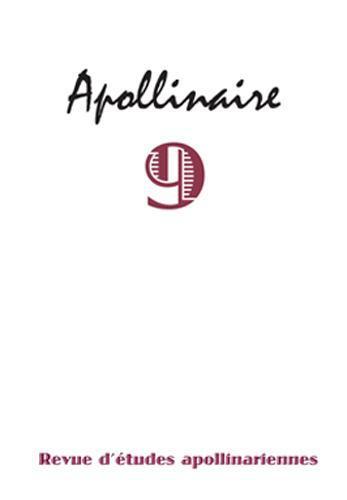 Revue d'etudes apollinariennes n.9