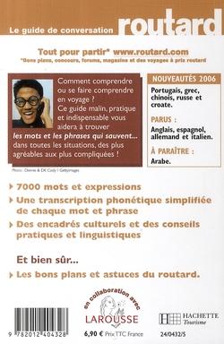Le guide de conversation Routard ; chinois