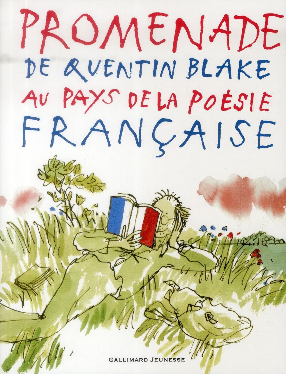Promenade de Quentin Blake au pays de la poésie française
