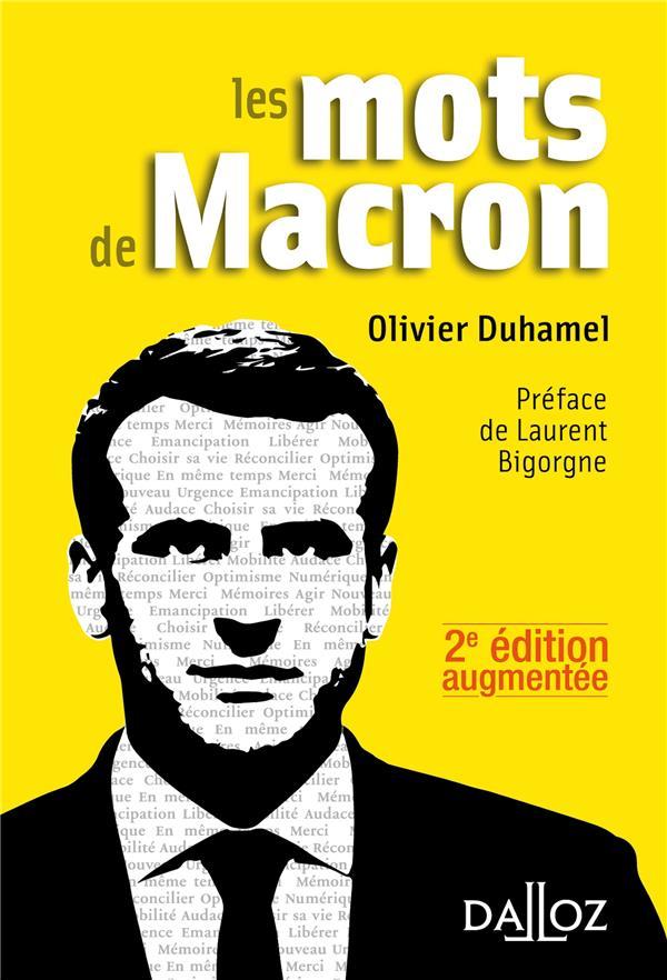 Les mots de Macron (2e édition)