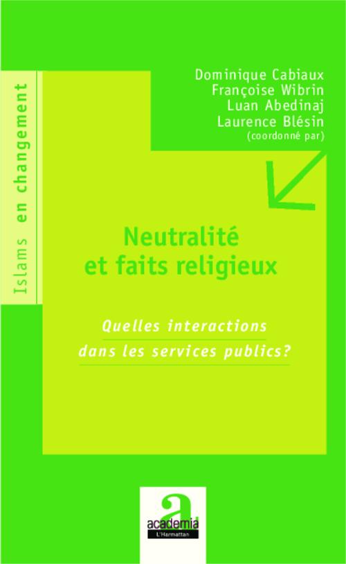 Neutralités et faits religieux