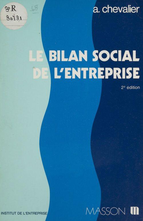 Bilan social entreprise