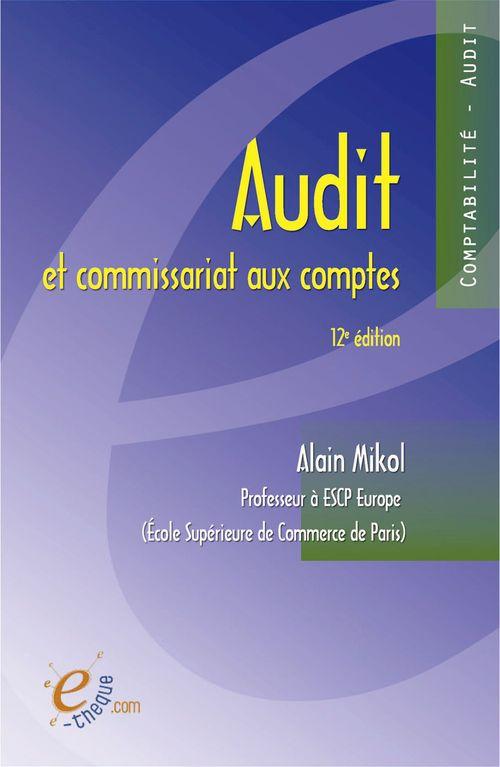 Audit et commissariat aux comptes - 12e édition