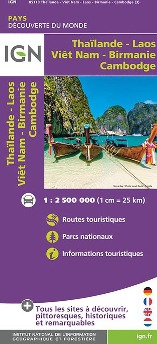 85110 ; Thaïlande, Viêt-Nam, Laos, Cambodge, Birmanie (3e édition)
