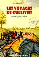 Vente EBooks : Les voyages de Gulliver (avec illustrations)  - Jonathan Swift