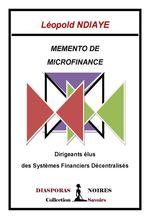 Memento de microfinance  - Léopold Ndiaye