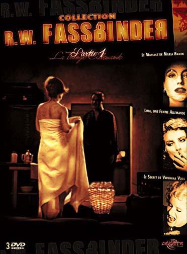 coffret Fassbinder, vol. 1 : le mariage de Maria Braun ; Lola, une femme allemande ; le secret de Veronica Voss