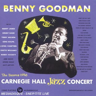 Live At Carnegie Hall 1938